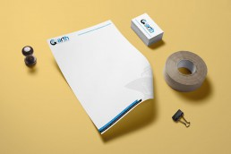 Branding, Corporate Identity & Web Design and Development - Aekam INC